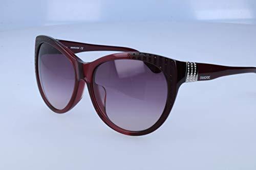 Swarovski Damen Sonnenbrille, Red, 60