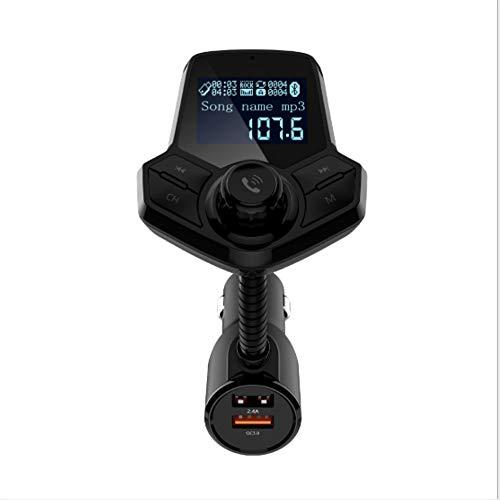 Auto Bluetooth FM Transmitter Dual USB Navigation Voice QC3.0 Schnellladung SD-Karte Lesen AUX-Monitor/Ausgabe Unterstützung TF-Karte Und USB-Flash-Laufwerk (Kindle-flash-laufwerk)