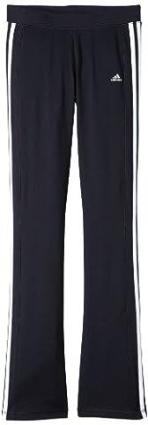 adidas Kinder Sporthose Clima 365 Core, Schwarz/Weiß, 140, Z29741