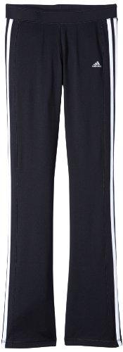 adidas Kinder Sporthose Clima 365 Core, Schwarz/Weiß, 116, Z29741 - Transfer Bermuda