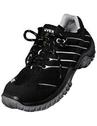Uvex Xenova - Calzado de protección para hombre, color Negro, talla 43
