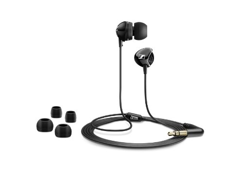 Sennheiser CX 175 - Auriculares in-ear, negro