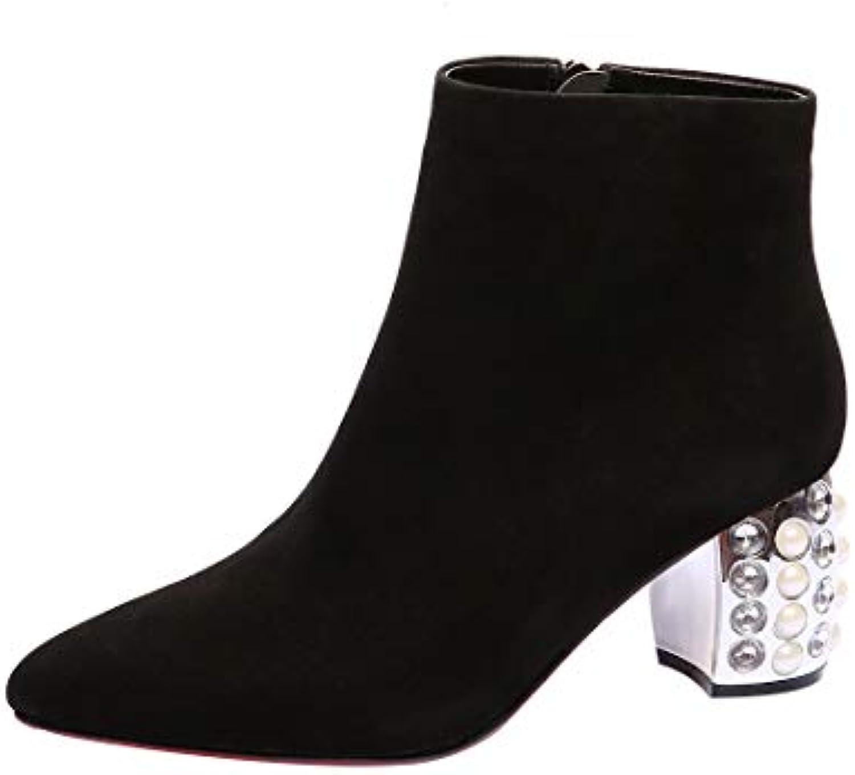 MAYPIE Donna Toautho Toautho Toautho Leather Cerniera Tacco a Blocco Stivali | Fine Anno Vendita Speciale  | Maschio/Ragazze Scarpa  281011