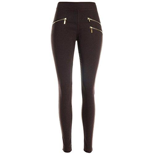 BEZLIT -  Pantaloni sportivi  - relaxed - Basic - Donna marrone Large