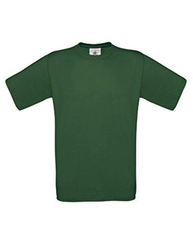 T-Shirt Exact 190 Basics Rundhals Shirt viele Farben B&C S-XXL XXL,bottlegreen (Life Kostenlose Sporting Apps)