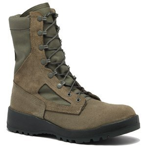 Women's Waterproof Sage Green Safety Toe Boot - USAF Sage Green Tactical Boot