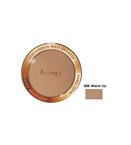 Rimmel London Sunshimmer Maxi Bronzer Cipria Abbronzanti - 20 gr