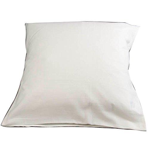 Lingorama - Sous Taie Oreiller 65X65 Coton Eponge 300Gr Blanc