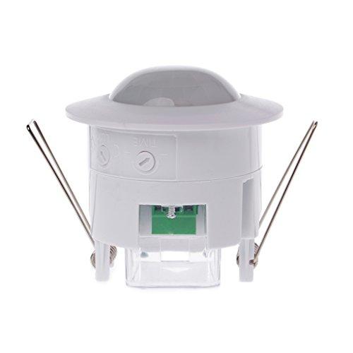 Zuanty-Planting 110-240 V AC Einstellbar 360 ° Decke PIR Infrarot Menschlichen Körper Bewegungsmelder Detektor Lichtschalter Eingebettete Decke Infrarot Körper Sensorschalter