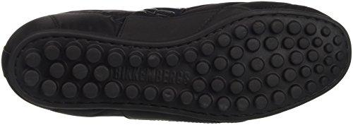 Bikkembergs Soccer 773 Shoe W Nylon/Lycra/Steel, Scarpe Low-Top Donna Nero (Black/Steel)