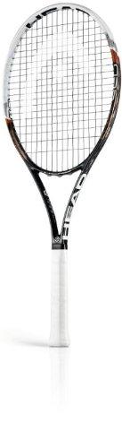 HEAD Tennisschläger Youtek Graphene Speed MP 16/19, schwarz/weiß, L2, 230013