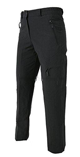 Hot Pantalon de survêtement Femme BENIA Pantalon de randonnée et de Loisirs Anthracite Courte Taille