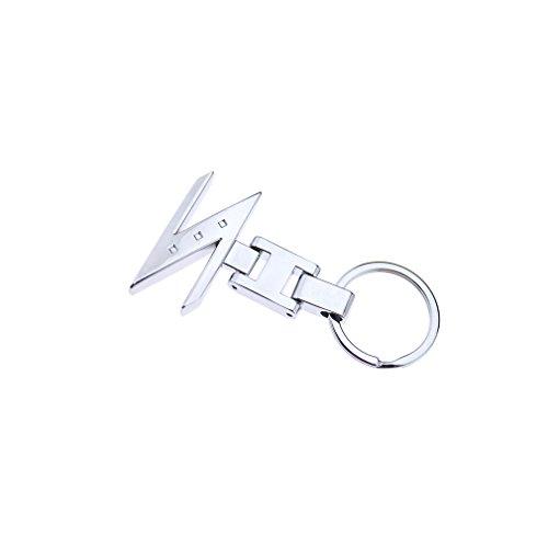 Auto Z Logo Schlüsselanhänger Anhänger Metall Silber Chrom 3d Chain Für Nissan (Schlüsselanhänger Gürtel-hänger)