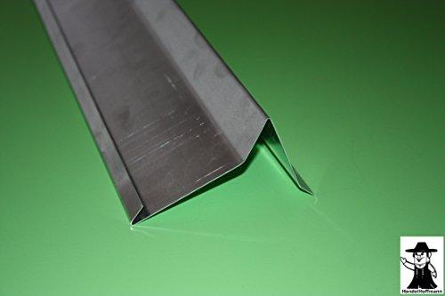 Ortgangblech 1 m lang Titanzink 0,7 mm (klein)