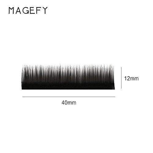 ✿Higlles Faux Cils,Extension De Cils De Cils De Vison De Cils Individuels De Maquillage De 8 / 12Mm 0.07/0.10/0.12/0.15C