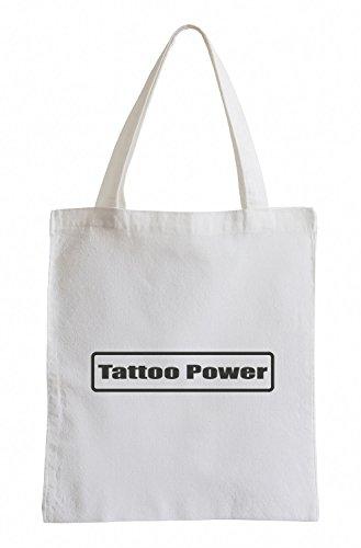 J.Roxx Tattoo Power Fun Jutebeutel