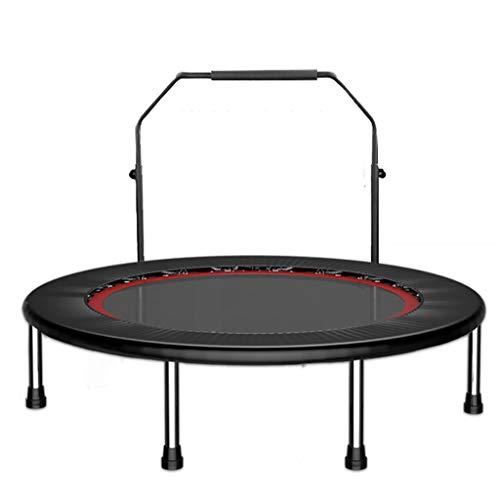 XYWLYLHOME Tragbare Fitness-Trampolin-Elastische Fitnessmatte Mit Verstellbaren HandläUfen Faltbarer Sport-Training FüR Erwachsene Und Kinder 48 Zoll