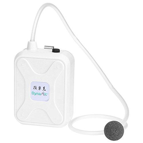 Foru-1 Tragbare Kunststoff-Luftpumpen für Aquarien, Sauerstoffbelüfter