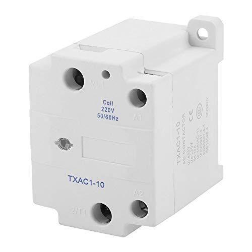10a Einpolige (10A Plastikmetallelektrisches weißes einpoliges ein KEIN Wechselstrom-Verbindungsstück 220V 50/60Hz für Spritzenmaschine)