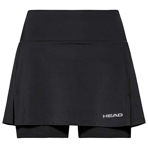 HEAD Damen Club Basic Skort W, Black, M