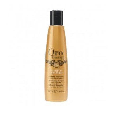oro therapy 24k shampoing illuminant huile argan 250 ml