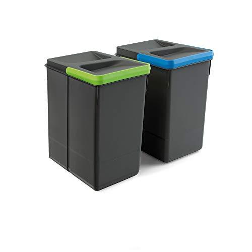 Imagen de Cubos de Reciclaje Domestico Emuca por menos de 25 euros.