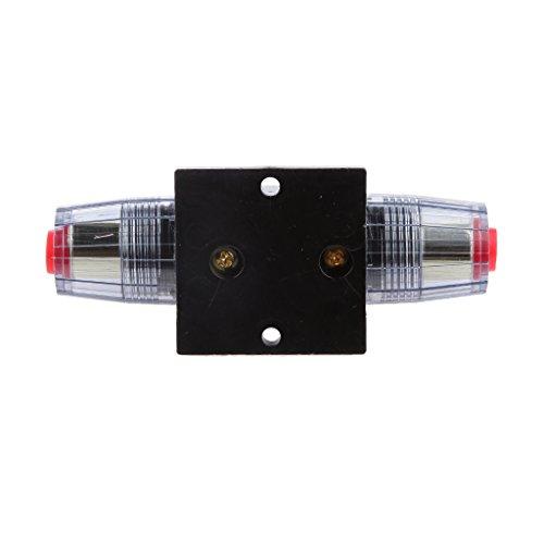 12V-24V Inline Auto Leistungsschalter 100A Manuelle Reset Schalter Audio Sicherung - 80 A -
