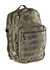 Rucksack Molle Adventure mit Belüftungssystem 45 Liter Schultasche verschiedene Farben OLIV