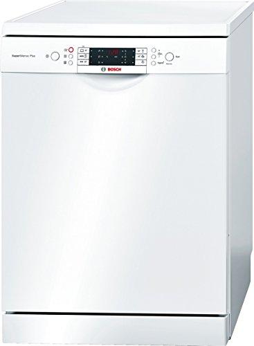 Bosch SMS69N82EU Autonome 14places A+ Blanc lave-vaisselle - lave-vaisselles (Autonome, A, A+, Blanc, boutons, Auto 45-65 ºC, Économie, verre/délicat, Intensif, Pré-lavage, Rapide)