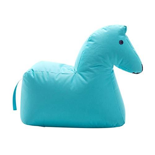 Sitting Bull - Sitzsack/Sitztier - Pferd LOTTE - Happy Zoo - blau