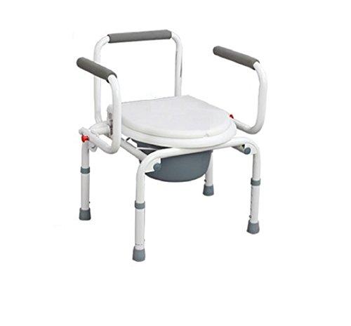 Verstellbare Stuhl Duschstuhl Höhe abnehmbare schwangere Frauen Bad Stuhl Badezimmer Duschstuhl bequem komfortabel und stabil -