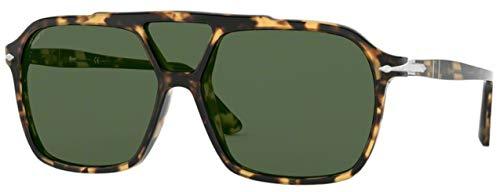 Ray-Ban Herren 0PO3223S Sonnenbrille, Blau (Tortoise Brown Beige), 59.0
