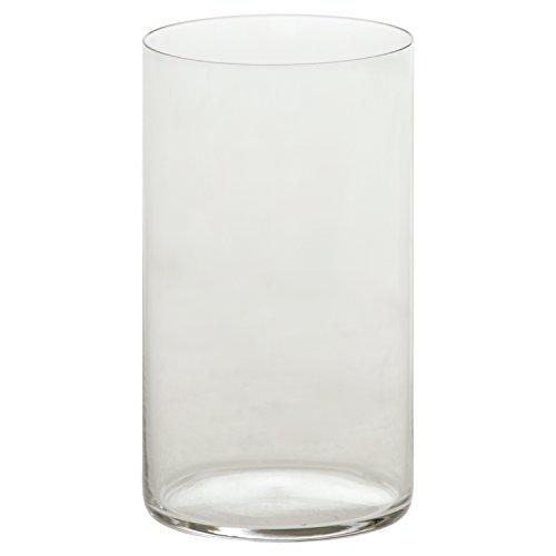 DRW - Set de 6 Vasos de Cristal para Gin Tonic Transparentes ø7,5cm x 14cm