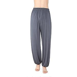 WOOD MEETS COLOR Hosen Herren Yoga Hose Lange Schlaf Hose Modaler Weiche Strick Pyjama