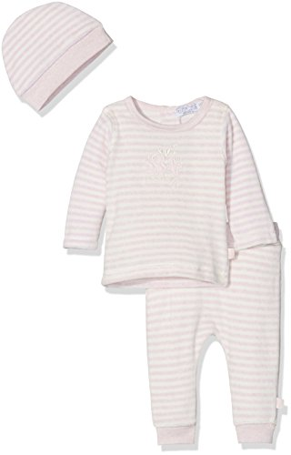 Dirkje Unisex Baby Bekleidungsset 2 PCE Babysuit (Light pink Stripe 3), 6-9 Monate Preisvergleich