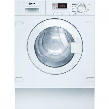 Neff V6540X1EU Intégré Charge avant B Blanc machine à laver avec sèche linge - Machines à laver avec sèche linge (Charge avant, Intégré, Blanc, Gauche, boutons, Rotatif, LED)