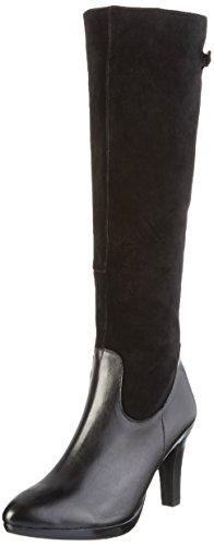 Caprice 25529 - Stivali Alti da Donna Nero (BLACK COMB 19)