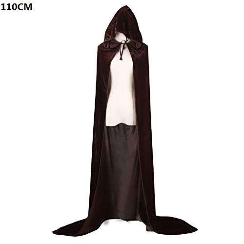 Kostüm Bösen Baby - Halloween Umhang - mit Kapuze Halloween Umhang Kostüm Cosplay Umhang Umhang mit Kapuze Kostüm mit Kapuze Cape für Männer Frauen-Magie-Cape