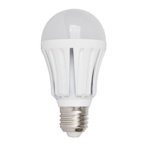 Set di 3lampadine a LED SMD. E27, pera 11Watt = 100Watt 1000lumen. Bianco caldo 3000K, vita
