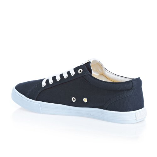 Lnss Halket Leather, Sneakers Basses Homme Bleu