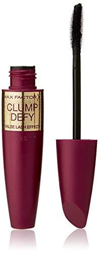 Max Factor Clump Defy Volumising Mascara Schwarz - Langanhaltende Wimperntusche für perfekten Schwung ohne zu verklumpen - 1 x 13 ml