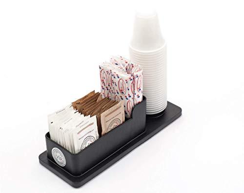 V.I.P. Elegante Porta Zucchero, Palette, Bicchierini caffè Indispensabile Elemento di Arredo per L'Ufficio e la Casa.