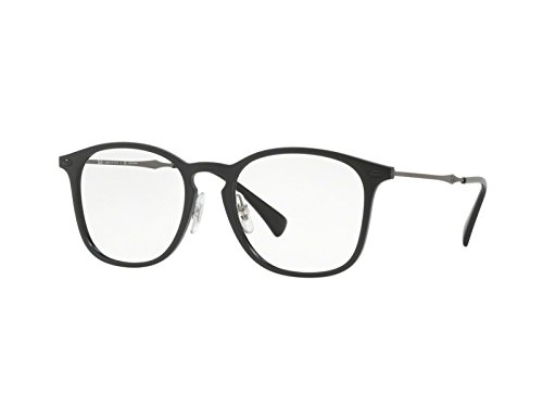 Rayban Herren Brillengestell RX8954, Schwarz (Black Graphene), 50