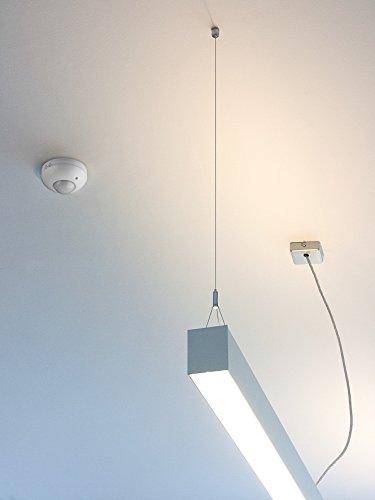Goobay Infrarot Bewegungsmelder zur Deckenmontage 360 Grad 6M Reichweite für Innen LED-geeignet - 2