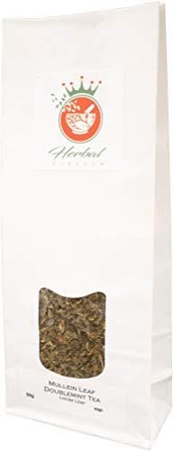 Königskerze Blatt und Doppel Minze Loser Tee (50g packung) -