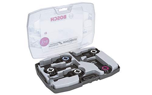 Bosch Professional 6 tlg. Starlock Tauchsägeblatt Set (für Holz, Metall und Multimaterial, Zubehör Multifunktionswerkzeug) -