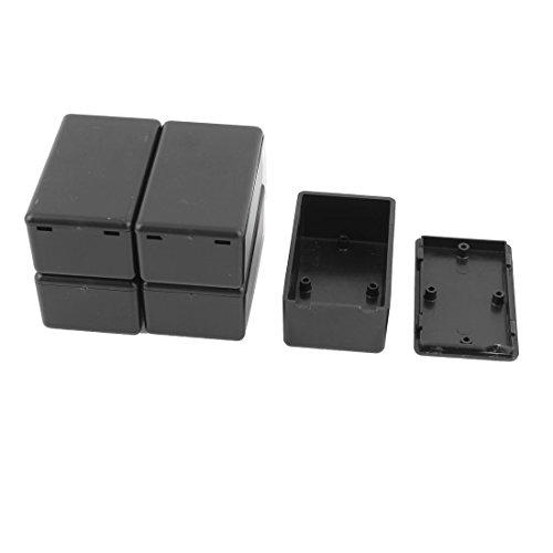 SOURCING MAP Caja de Protección Eléctrica de Plástico Impermeable para Caja de Conexiones de 60 x 36 x 25mm - 5 Piezas
