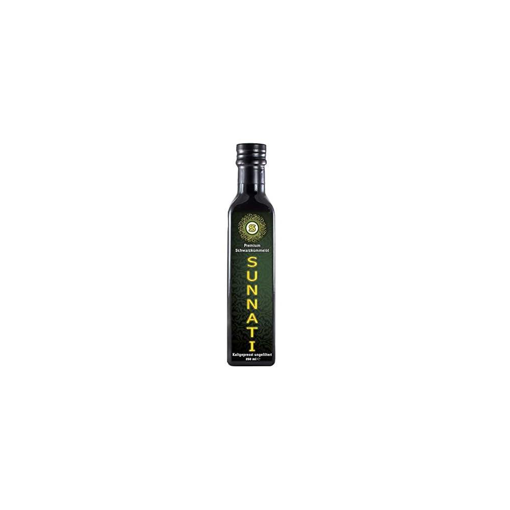 Premium Schwarzkmmell Gyptisch 100 Rein Kaltgepresst Ungefiltert 250ml