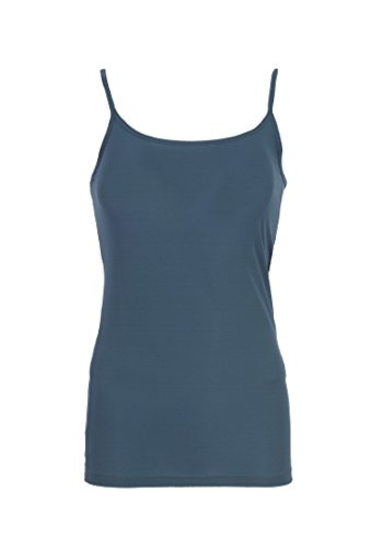VERO mODA hola singlet t-shirt sans manches pour femme Bleu - Majolica Blue