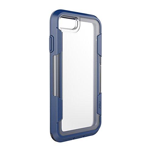 Peli Vault Étui de Protection pour iPhone 7 Plus - Noir / Gris Clair Transparent/Indigo
